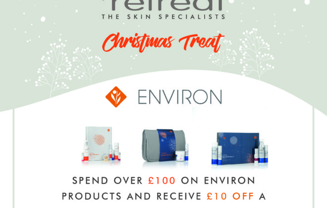 Environ Christmas offer from Pure Retreat